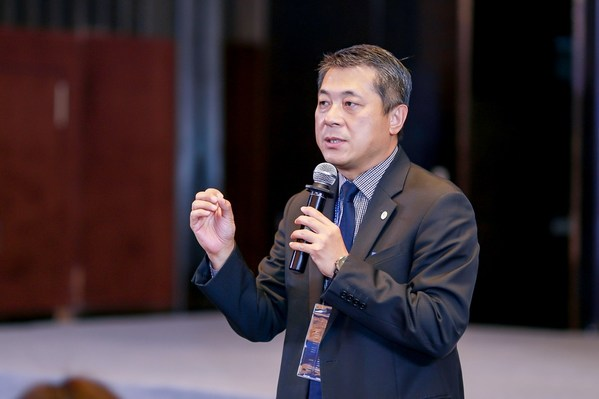 丹纳赫生命科学中国区总裁李冰先生致辞