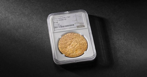 英国王立造幣局が希少なチューダー朝時代の金貨をデジタルオークションで競売へ