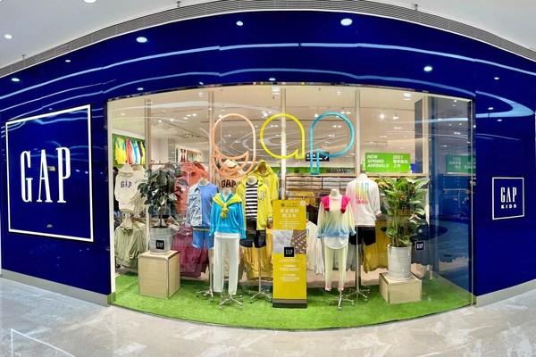 Gap品牌在多个城市连开新店