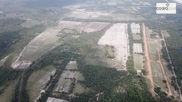 116MWP Coara Marang solar farm, one of the largest Solar Projects in Malaysia, has started construction In Terengganu