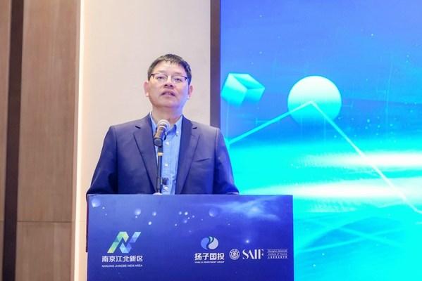 南京市委常委、江北新区党工委专职副书记罗群致辞