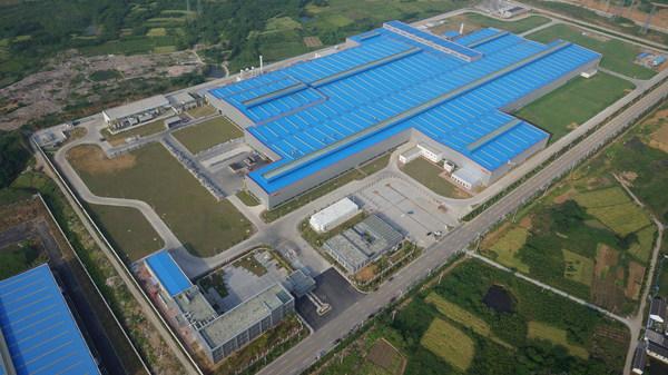 诺贝丽斯镇江工厂鸟瞰图