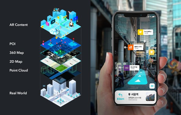 MAXST officially launched spatial AR platform technology, MAXST VPS.