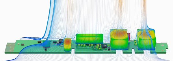 Altair's new electronic system design toolset includes thermal simulation of PCB components