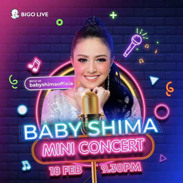 Baby Shima To Perform Her First Mini Concert on Bigo Live