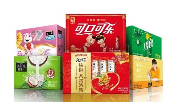 可口可乐中国2021年新春乡镇礼盒