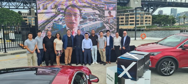 Nexport/BYD exclusive Asia Pacific agreement for electric cars signed via Zoom with Mr Liu