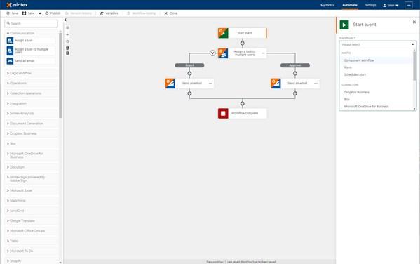 Nintex Unveils Nintex Workflow Cloud Enhancements with Actionable Process Intelligence