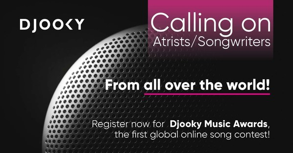 Become the new musical idol in Asia and the world with Djooky Music Awards. Registration is open to participants from all over the world until February 20, 2021.