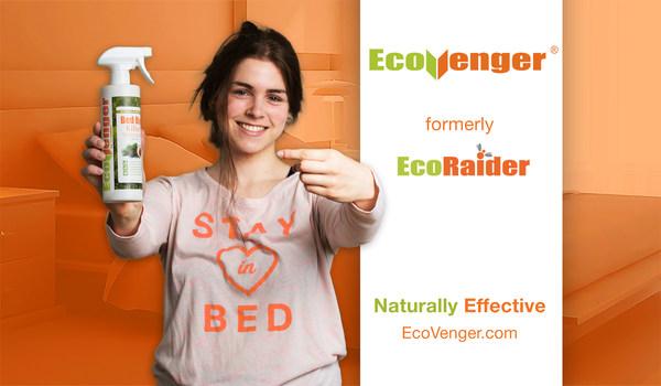 Leading Green Pest Product EcoRaider Announces Rebranding as EcoVenger®