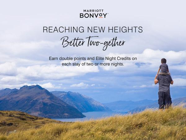 Các thành viên Marriott Bonvoy sẽ nhận được gấp đôi điểm tín dụng đêm ưu tú và gấp đôi điểm thưởng nhận được khi lưu trú từ hai đêm trở lên, áp dụng từ ngày 16/02 đến ngày 27/04/2021 tại các khách sạn tham gia.