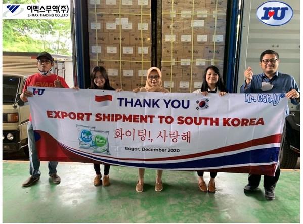 PT Inasentra Unisatya, 한국에 인도네시아 최초의 비건 캔디 수출