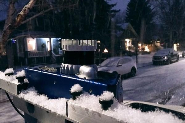 Ouster数字激光雷达在极寒环境中稳定运行