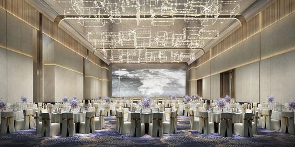 深圳国际会展中心希尔顿酒店宴会厅效果图