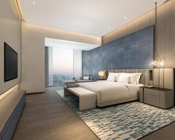 深圳国际会展中心希尔顿酒店客房效果图