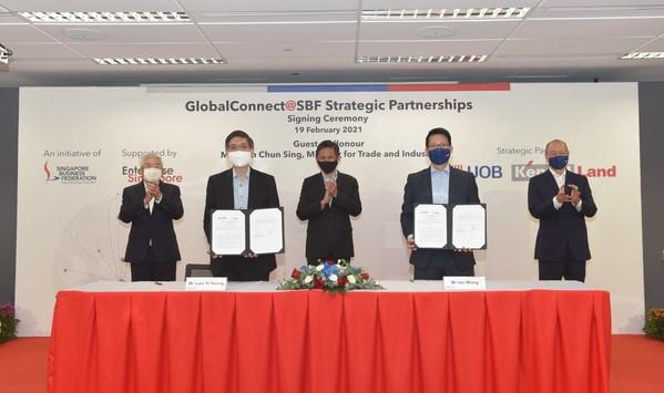 Ngân hàng UOB và Liên đoàn Doanh nghiệp Singapore xúc tiến hoạt động kết nối các công ty Singapore xuyên biên giới đến các cơ hội kinh doanh trị giá 3 nghìn tỷ USD của nền kinh tế ASEAN
