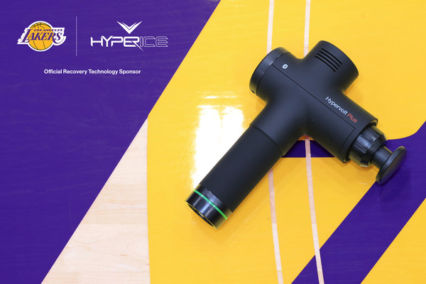 Hypervolt Plus x L.A Lakers
