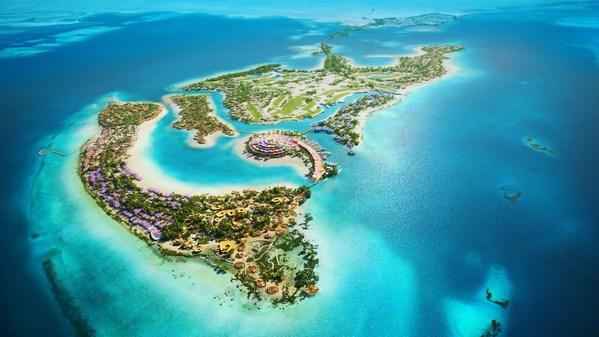 沙特王储正式揭晓红海项目门户岛屿设计