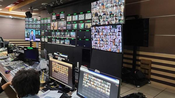 韓国放送局MBCは、TVU Networksのソリューションにより64人のゲスト出演を実現