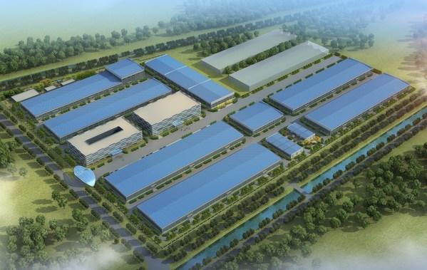 Pylontech의 신규 생산 공장 배치도