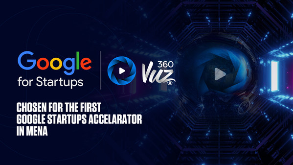 "360VUZ Joins the First ""Google for Startups Accelerator"" in MENA"