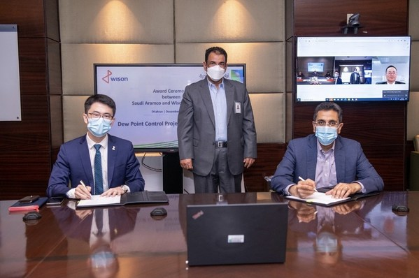 惠生工程与沙特阿美云签约天然气上游项目,模块化解决方案再获国际一流业主认可。