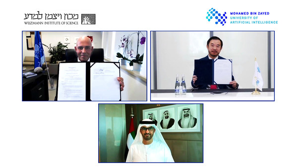 Mohamed bin Zayed University of Artificial Intelligence and Weizmann Institute of Science establish joint AI Program