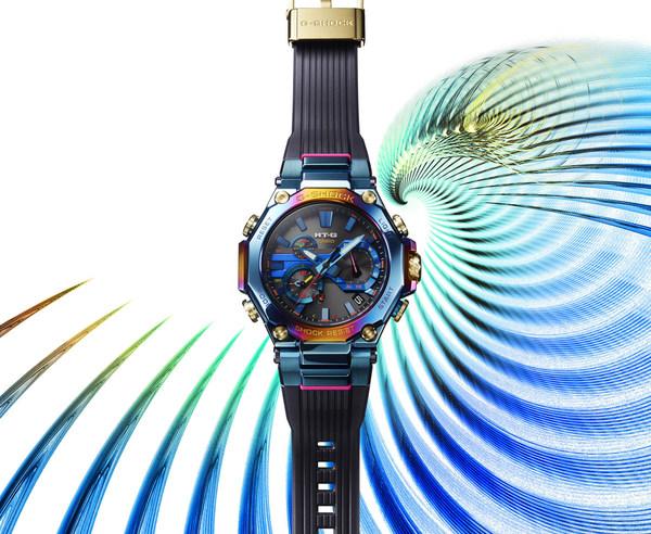 卡西欧推出全新MT-G蓝凤凰设计魅力腕表