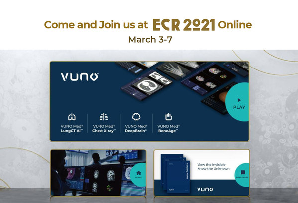 VUNO presents its state-of-the-art AI medical imaging technology at ECR 2021