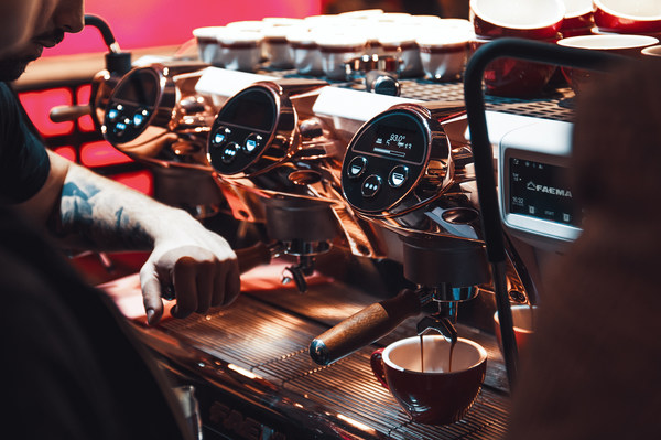 Altair and Gruppo Cimbali boost barista business with digital twins, converging process data and simulation for optimized product performance and increased efficiency for Faema coffee machine E71e.