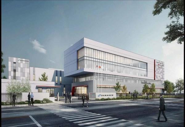 丹纳赫中国诊断平台研发制造基地建造效果图