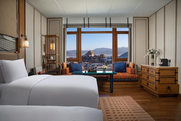 迪庆月光城英迪格酒店豪华景观双床房