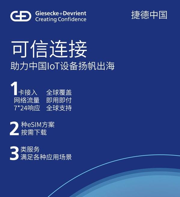 捷德可信连接 -- 助力中国IoT设备扬帆出海