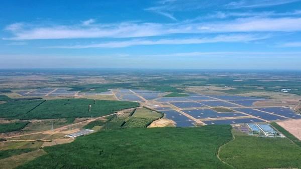 Nhà máy điện điện mặt trời 350 MW với giải pháp biến tần của Sungrow bắt đầu đi vào hoạt động tại Việt Nam
