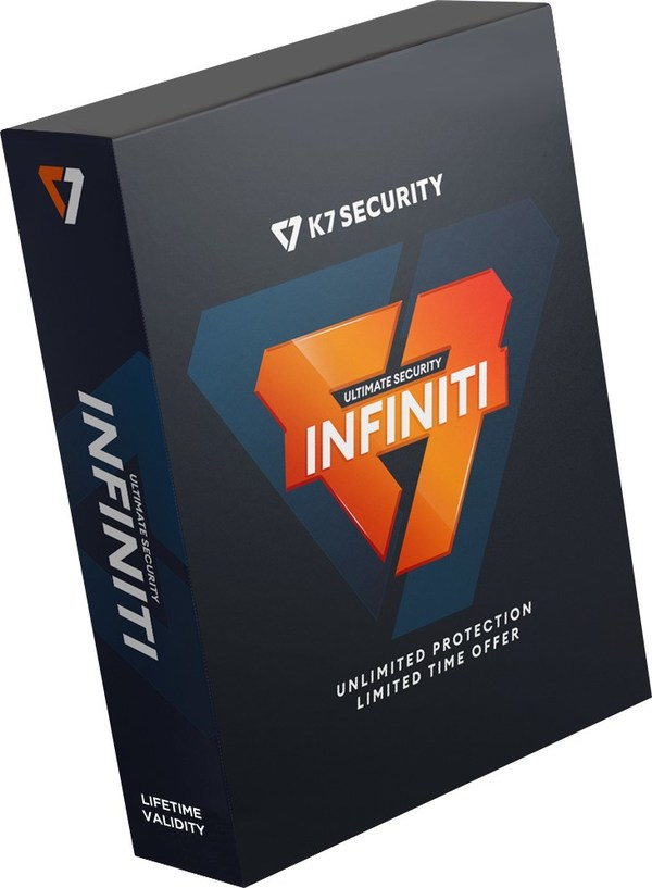 K7 Computing Launches Lifetime Valid Antivirus - K7 Ultimate Security Infiniti Edition