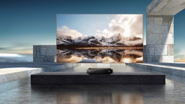 The world's first TriChroma Laser TV, Hisense 100L9.