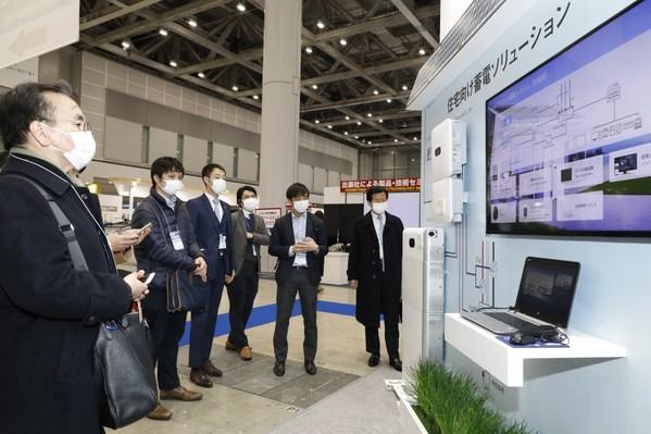 Solusi smart string Energy Storage System (ESS) LUNA2000-5/10/15 dari Huawei telah menjadi perhatian luas selama pameran berlangsung