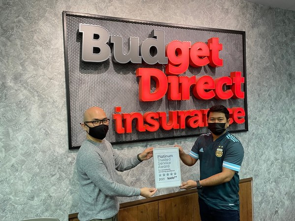 Budget Direct Insurance Receives Feefo Platinum Trusted Service Award Two Years in a Row