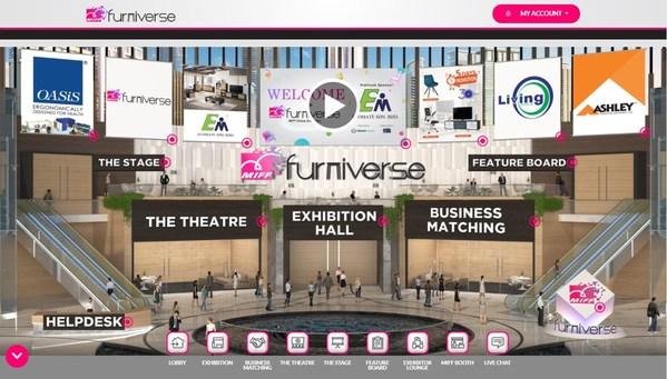 MIFF Furniverse 在线展会3月开展 为亚洲家具购买季掀开序幕