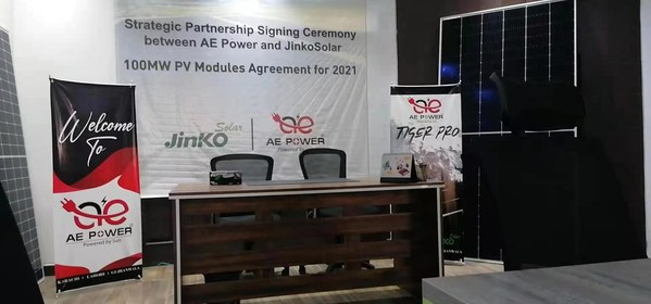 100MW Modules Signing Ceremony