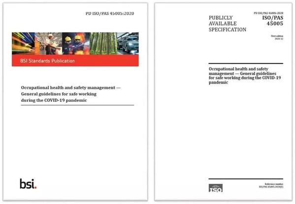 由BSI承担的ISO/TC283技术委员会发布最新ISO 45005国际标准