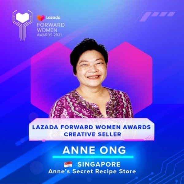 Anne Ong, 56 years old, Singapore