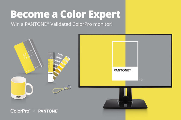 """ViewSonic and Pantone Announce Lucky Draw Online Campaign, """"Become a Color Expert"""""""