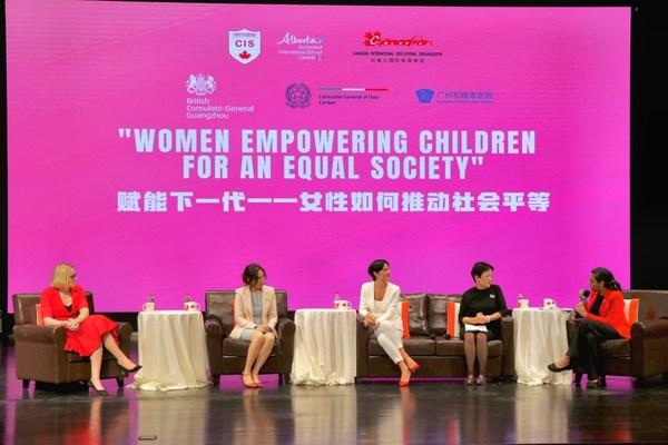 广州加拿大国际学校与领事馆共办妇女节活动