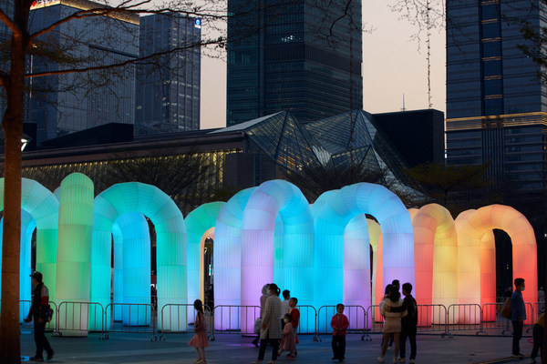 GLOW SHENZHEN 2020 concludes with the goal of building China's tech-based art IP