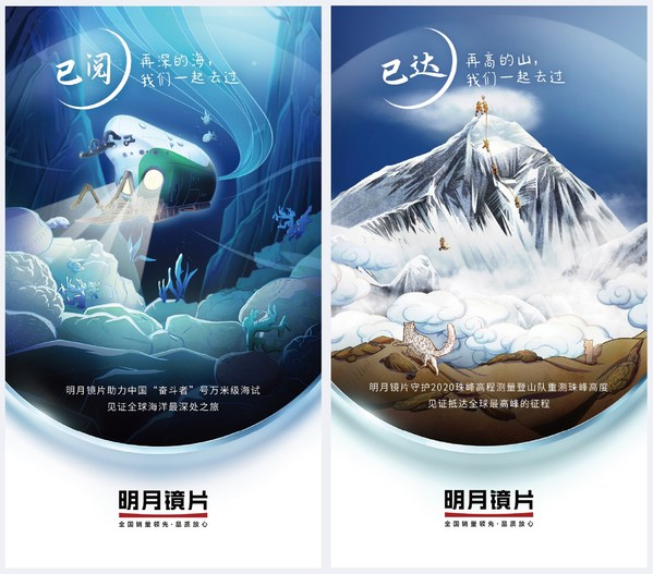 """""""中国科学十大进展""""彰显国力,明月镜片为中国英雄保驾护航"""
