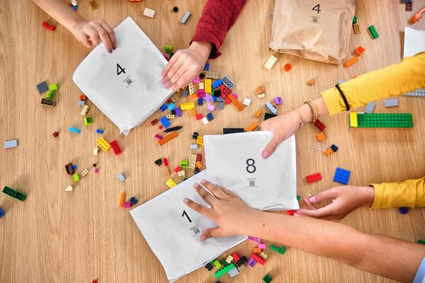 自2021年起可回收纸袋将在乐高产品包装盒中试用