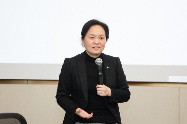 TUV萊茵大中華區管理體系認證認可業務副總裁鄭萍