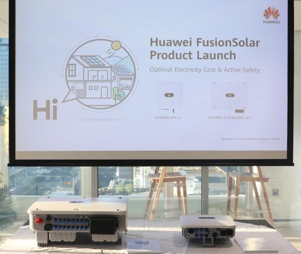 Huawei FusionSolar Product Launch