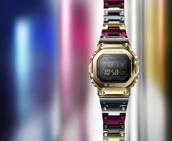 卡西欧将推出全新钛合金G-SHOCK腕表